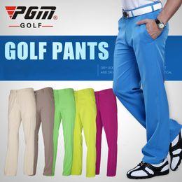 pgm golf Rebajas PGM auténticos pantalones de golf para hombres pantalones impermeables ropa de golf suave y transpirable tallas de verano xxs-xxxl