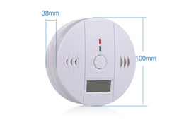 Wholesale Carbon Electrical - 10pc Wireless Battery-operated gas alarm security system Alert Smoke Carbon Monoxide CO Detectors Gas Alarm 10A