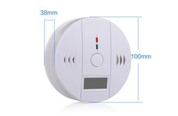 2019 sistemas de alarma de gas DLM2 10pc Inalámbrico Sistema de seguridad de alarma de gas a batería Alerta Humo Monóxido de carbono Detectores de CO Alarma de gas 10A sistemas de alarma de gas baratos