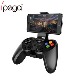 controller ps Sconti iPega PG-9078 Joystick wireless Bluetooth Joystick Gamepad Controller di gioco per Android / iOS Tablet PC per Ps Dualshock 4