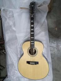 chitarra jumbo palissandro Sconti La musica 8sounds libera il trasporto 12 corde jumbo chitarra acustica di 12 corde di alta qualità in legno di cedro solido