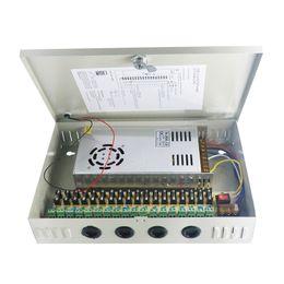 sicherheitskamera netzteil Rabatt DC12V 30A 18 Kanal Netzteil Adapter für CCTV Kamera CCTV System 12V Sicherheit professioneller Konverter Adapter