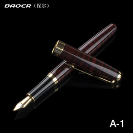 fountain pens baoer 388 Coupons - Baoer 388 Red and Black 5 colours Stripes Calligraphy pen 1.0 mm Nib Fountain Pen