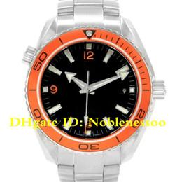 eece3a2601b 9 Estilo Topselling Relógio De Luxo Top Quality PLANETA OCEANO 600m    2000ft Laranja Moldura 2209.50.00 Co-axial Relógios Automáticos Masculinos