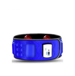 Wholesale Massage Therapy Belt - Electric Abdominal Tummy Slimming Belly Fat Burner Lose Weight Fitness Waist Massage Belt Slim Gym Belt