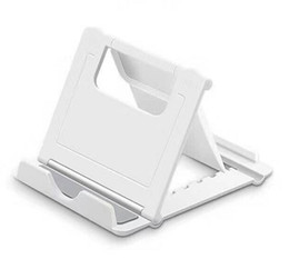 2019 telefono cellulare di sostegno di plastica Cell Phone Tablet Desk supporto del basamento di Smartphone del telefono mobile Staffa per iPad iPhone di Samsung con l'imballaggio al dettaglio