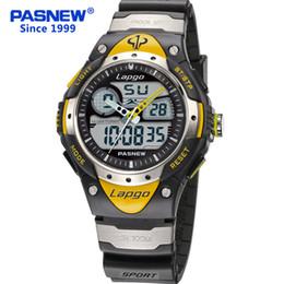 Argentina Relojes Hombre Super Diving 100 metros a prueba de agua de cuarzo Led Relojes deportivos exteriores Hombres Reloj Army cheap super meter Suministro