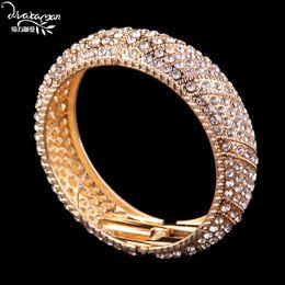 Canada 2017 Indien De Mariage De Mariée En Cristal Strass BraceletBracelet Femmes Boho Style Maxi Bracelet Bijoux Bijoux J67 supplier bracelets indian style Offre