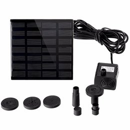 solar panel free shipping Coupons - Solar Power Panel Water Pump Garden Brushless Pond Fountain Pool Water Pump 7V 1.2W Free Shipping