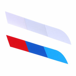 Wholesale New X7 - 4PCS New PVC Auto SUV Sticker Car-Styling Tricolor Decoration Decal for BMW X1 X3 X5 X6 X7