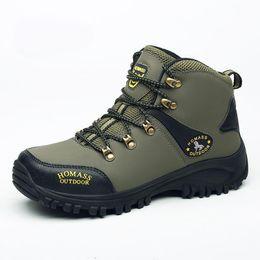 Winterschutzstiefel online-Winter / Herbst Outdoor Boots Herrenschuhe Herren Adult Casual Gummi Anti-Rutsch-Stiefel Herren Arbeit Sicherheit Schuhe Schuhe