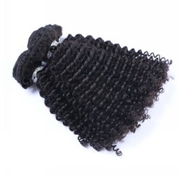 Wholesale Cambodian Kinky Curly Hair - Peruvian Curly Human Hair Weaves 100% Virgin Unprocessed 9A Brazilian Malaysian Indian Cambodian Kinky Curly Human Hair Extensions