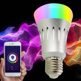 Canada Hot E27 8W LED Smart WIFI ampoule Alexa Dot Light Dimmable Accueil ampoule pour le bureau des ménages Offre