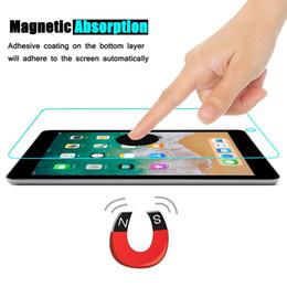 Para a apple ipad air / air2 protetor de tela de vidro temperado 9 h 2.5d alta qualidade de definição anti scratch film para apple ipad series de Fornecedores de definição de arranhões