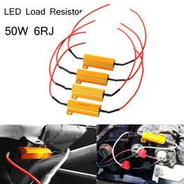 hyperblitz led birnen Rabatt 4x 50W 6ohm Lastwiderstand Fix Fehler Blinkerbirnenbremse Hyper Flash Blink Blinker Fehler für Auto Auto LED Lampe