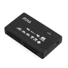 2019 lector de tarjetas de memoria mini multi one Todo en 1 Lector de tarjetas un USB 2.0 Adaptador de lector de tarjetas de memoria Mini Memoria CF MS T-Flash TF M2 XD MMC lector de tarjetas de memoria mini multi one baratos