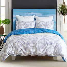 2019 conjuntos de cama florais Roupa de Cama para adultos Euro Quilt Capa Fronha Colcha Edredon Planta Floral AB Layout Bed Set Twin Queen King Size desconto conjuntos de cama florais