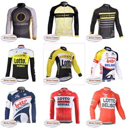 Wholesale Cheap Bicycle Jerseys - LIVESTRONG LOTTO team Cycling Winter Thermal Fleece jersey Top Sale Cheap Thermal Fleece Man Winter Windproof Bicycle Clothing 840811