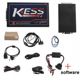 2019 ecu tuning lexus Promotion KESS Firmware V4.036 Version pour camion KESS Kit de réglage Master Manager avec logiciel V2.35 haute qualité ecu tuning lexus pas cher