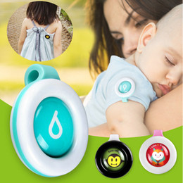 Wholesale bugs insects kids - Anti Mosquito Bug Buckle Pest Repel Clip Insect Repellent Outdoor Baby Kids Gravida Pest Control AAA295