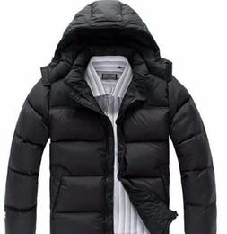 Wholesale Men S Short Down Jacket - 2017 winter warm North men's thick Slim cotton men's short paragraph men's down jacket men face