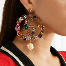 Boucles d'oreilles pour femmes plaqué or coloré CZ boucles d'oreilles pour les filles Femmes pour le mariage, joli cadeau pour les amis ? partir de fabricateur
