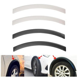 2×Strip Fender Flares Arch-Wheel Eyebrows Protect Anti-Scratch For Honda Toyota
