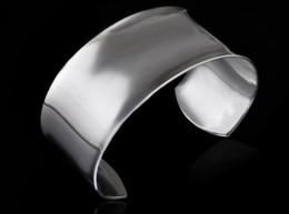 Ausländische silberne schmucksachen online-2018 außenhandel armband, modische versilbert ausländischen großen armband, europäischen und amerikanischen hot jewelry l312