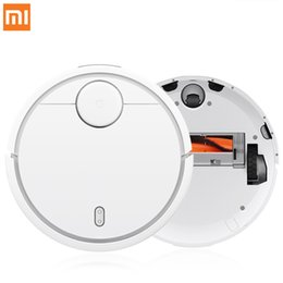 Wholesale Remote Robots - 2017 XIAOMI MI Robot Vacuum Cleaner for Home Automatic Sweeping Dust Sterilize Smart Planned Mijia Mobile App Remote Control