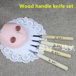 BJD poupée blyth changer outils changer maquillage manche en bois couteau ensemble poupée accessoires bjd carve souris gravé yeux ouverts Outils de bricolage ? partir de fabricateur
