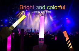 Wholesale Glow Sticks Rave Wholesale - Glow Sticks, 15 Colors LED Light Stick Reusable Multicolor LED Flashing Light Foam Baton Strobe for Party Supplies, Festivals, Raves, Concer