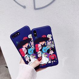 2019 capas de telefone de pato Caso de personalidade para o iphone 6 6 s 7 8 além de casos de silicone macio para iphone x 10 pato tpu phone case capa desconto capas de telefone de pato