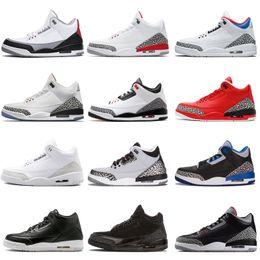 Zapatos forrados online-Hombre Zapatillas de baloncesto Black White Cement Línea de tiro libre JTH NRG Tinker Hartfield Katrina para hombre Deporte True Blue Trainers III Sneakers designer