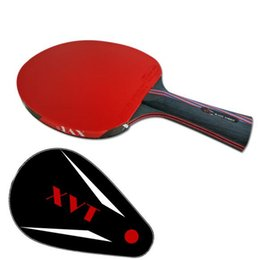 Canada XVT 40+ NANO CARBON KOKUTAKU 868 caoutchouc main-assembler raquette de tennis de table PINGPONG paddle supplier paddle case Offre