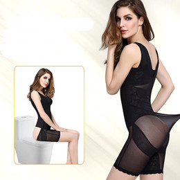 Wholesale thin corsets - Women Sexy Body Shapers Corset Postpartum Thin Breathable Waist Slimming Bodysuit Push Up Breast Shapewear Underwear Corsets