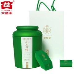 2019 chá emagrecimento china Taetea nova chegada Pequeno verde cítrico 110g chá puer maduro com Bênção pote Dayi