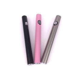 Pilhas novo produto on-line-Novos Produtos AB1004 Bateria 280 mah Vape Pen Preaqueça Baterias 510 Rosca bateria com fundo de Carregamento de porta para AC1003 Caneta Kingpen Vaporizador