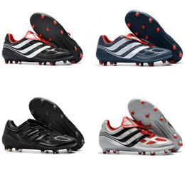 Wholesale Model Cotton - Football Boots Predator Precision FG New Models 2017 David Beckham Soccer Boots Soccer Cleats Drop Shipping Size 39-45