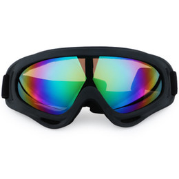 Óculos off road on-line-Motocicleta Bicicleta ATV Motocross UVProteção Óculos de Esqui Snowboard Off-road FITS OVER RX VIDROS Lente Eyewear Frete grátis.