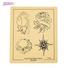 falsificação tatuagens rosa Desconto Rose Prática De Couro De Silicone Maquiagem Permanente Ferramenta de Tatuagem Cosmética Formação Prática Pele Falsa Para Iniciantes Excelente Cosméticos