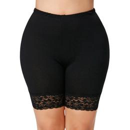 Gamiss Frauen Spitze Sicherheit Kurze Hosen Plus Größe 5XL Anti Geleert Unterwäsche Hohe Elastische Taille Kurze Boxer Shorty Mode Hosen von Fabrikanten