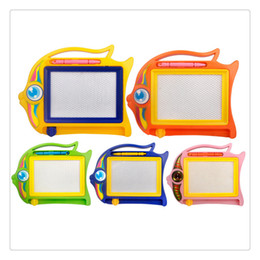 board intelligence Promo Codes - Doodle Magnetic Drawing Board Colorful Erasable Mini Size Kids Writing Sketching Board Intelligence toys And High Quality (Color Random)