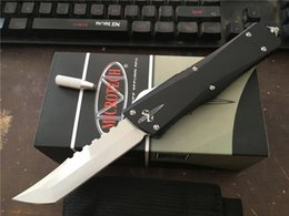 Wholesale New Tanto Knife - New Custom Mic-tech MT Ultratech Hellhound Tanto Combat Troodon knife Spear point D2 blade Tactical knives Halo V 616 A161 A07 EDC Tool