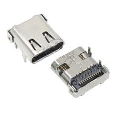 2019 припой Высокая скорость USB 3.1 Тип C женский 24pin 4LEGS PCB крепление припоя разъем дешево припой