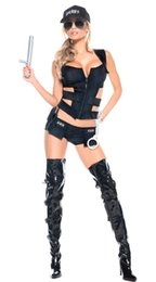 Canada 3 Pcs Costume Femmes Costumes Sexy Costumes Femmes Adultes Costumes de Sexe uniforme Halloween Costume Carnaval cheap adult sex halloween costume Offre