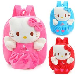 c8fc568c8 Wholesale and Retail Hello Kitty Toddler Kids Children Boy Girl Cartoon  Backpack Schoolbag Shoulder Bag Plush Toy Bag