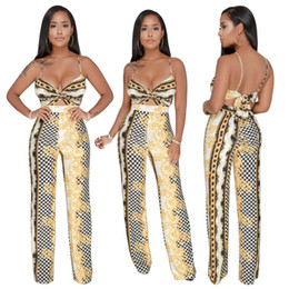 two piece african dresses Promo Codes - Free shipping African Print Two Piece Play suit Ankara Print African Dress Short Crop Top Africa Clothing Fashion Jumpsuit Retail Wholesale