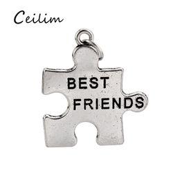 640bde0e8287 2019 amigos para siempre pulseras Best Friends Forever Charms Resultados de  la joyería de plata antigua