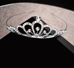 Bling Bling enfants tête couronnes belle princesse coiffes pas cher strass perles tairas ? partir de fabricateur