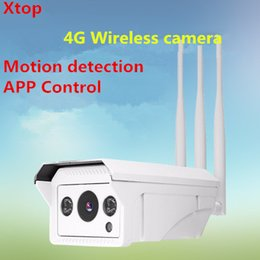 Telecamera esterna wireless iphone online-Android Full HD 1080P 960P HD Bullet IP Camera Wireless GSM 3G 4G Scheda SIM Telecamera IP Wifi Outdoor iPhone impermeabile